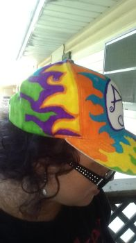 Abby's Hat side view 2 by DustyScarecrow