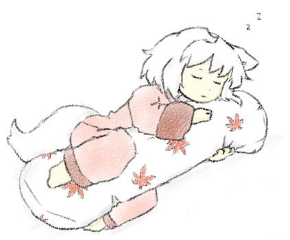 Comfy Sleeping by Piddlepoddle