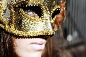 Behind the Mask IX by Michaella-Designs