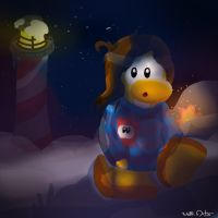 Club Penguin Operation Blackout by WellArtes