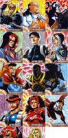 Captain America Sketch Cards 4 by eisu