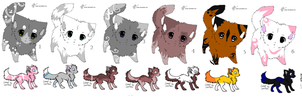 Mix dopts by Icey-adopts