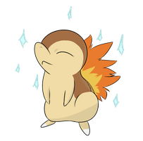 Cyndaquil SHINY by brittoniawhite