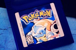 Pokemon Blue by AllyCatastrophe