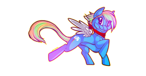 rainbow dash by lembuk