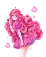 Princess bubblegum by NaiLyn