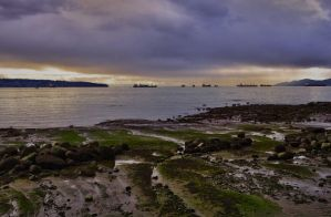 A beautiful Vancouver evening by DTherien