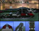 Advance Overlord Tank by tekelaxii
