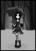 Ivy_In The Rain by Undine1225