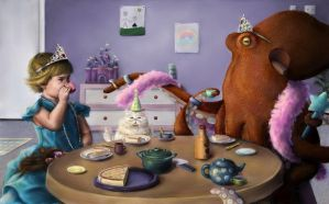 Octopus Tea Party by JessicaEdwards