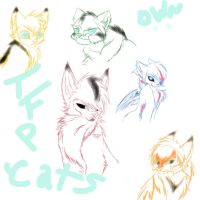 TFP Cats- Autobots Scribble by One-WingedNeko-OwO