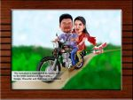 Wedding Caricature from Photos by Caricaturelives by sugumarje