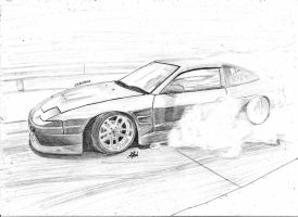 Nissan 180SX by CptSky