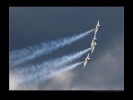 Stormy Sky Thunderbirds by jdmimages