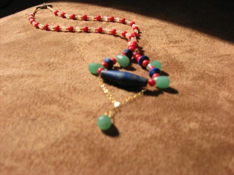 Byzantine Necklace by CoupCoupDesigns