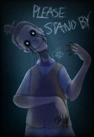 (Human FNaF) Please stand by by omenarem