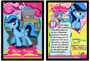 Trading Card: Silver Tongue by DragonGirl983