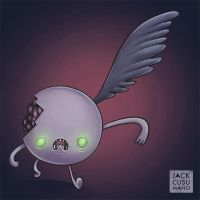 One Winged Candy Zombie by jackiecous