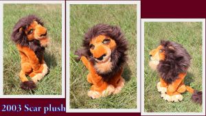 Scar plush by Laurel-Lion