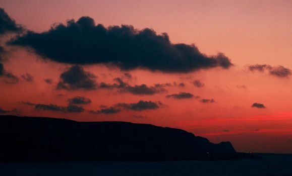 Dawn on Dover by piskieheart