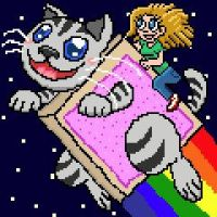 Nyan in The Sky With Diamonds by SowCrazy