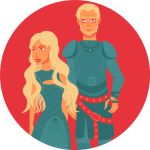 Dany and Jorah by Leah-Sama