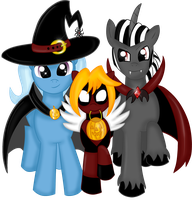 Happy Nightmare Night (No Background) by Rayodragon