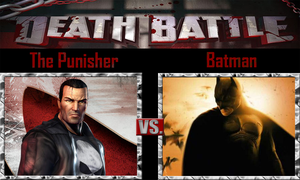 The Punisher vs Batman by SonicPal