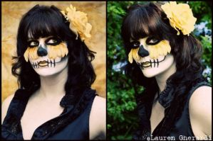 Sugar Skull by KristiinaKryptonite