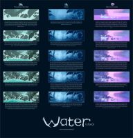 Water Tutorial by MinnaSundberg