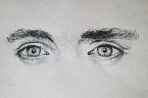 Tom Hiddleston's Eyes by EnigmaticDoodle