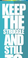 KEEP THE STRUGGLE by muhammadhariajiDGMB
