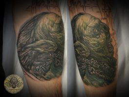lord of the rings sleeve 1 by 2Face-Tattoo