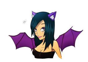 Comision Emo girl by ZeyJin
