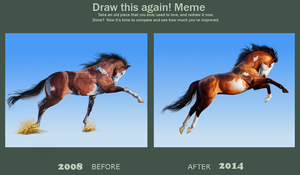 Draw this again meme by BH-Stables