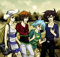 Yugioh GX @ Spring Evening by ElfBean