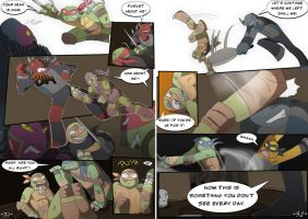 TMNT DR: Pages 31-32 by Samantai