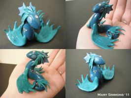 Little Water Dragon by MaryBunnie