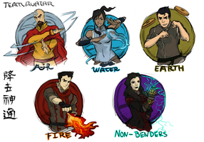 Team Avatar 2.0 by AgentWhiteHawk