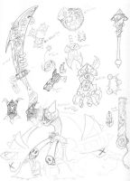 Bugz weapons sheet 1 by nork