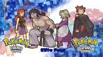 Pokemon FRLG- Elite Four Wallpaper by MattPlaysVG