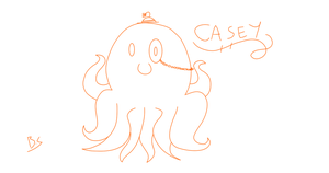 Casey The Octopus by 2-DimensionalNerd