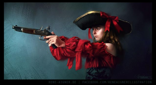 Pirate Study by ReneAigner