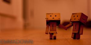 'Whats up there?' - Danbo Series by oEmmanuele