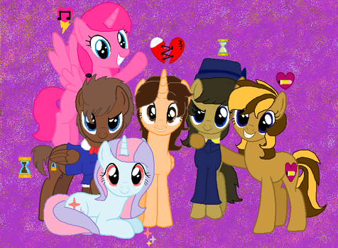Me And My Fav Youtubers And My Doctor by DoctressWhooves11