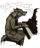 sing a lonely song by Canis-ferox