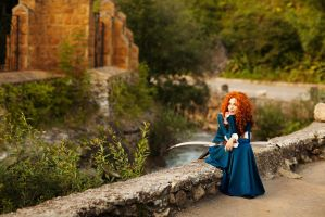 Princess Merida by LucreciaBorja