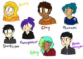 dragonet humans redone by liighty