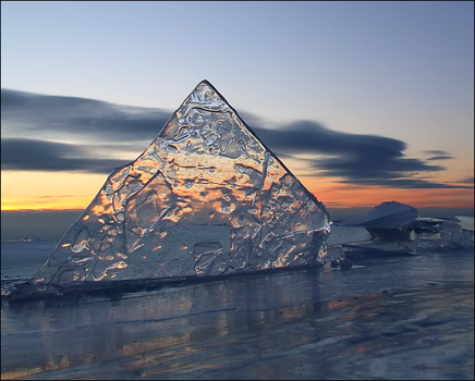The Ice Shark by wb-skinner