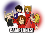 CHILE CAMPEON!! by ValiChan